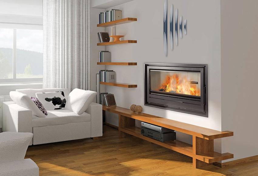 Chimeneas modernas en madrid - Tipos de chimeneas de lena ...